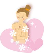 赤ちゃん抱っこ はだかんぼ